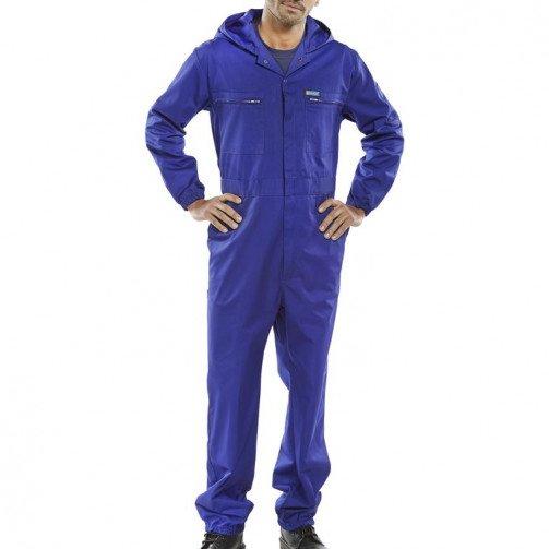Super Click Hooded Boilersuit