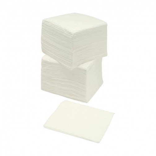5 Star Napkins 2 Ply White 40cm Pk100