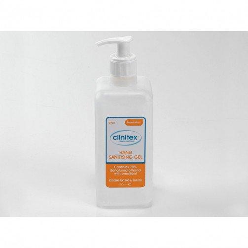 Clinitex  Alcohol Hand Sanitising Gel 6x500ml