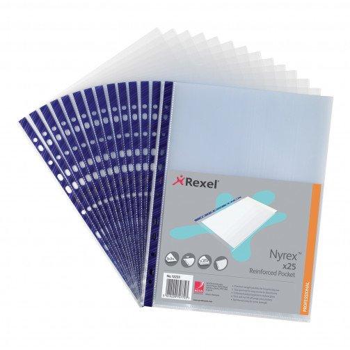 Rexel Nyrex Pockets NPR/A4 12233Pk25