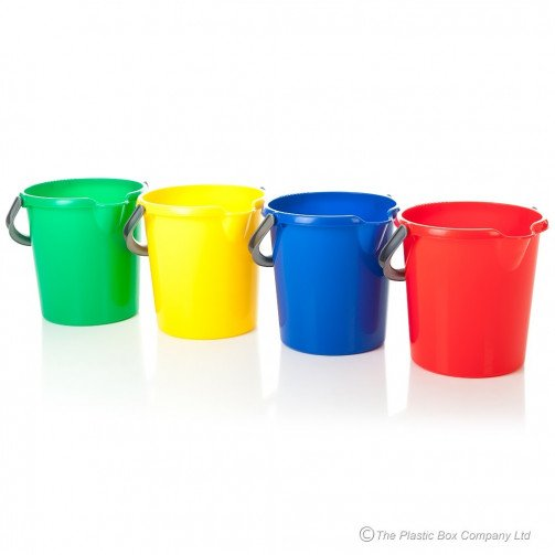 Plastic Buckets 10 Litre