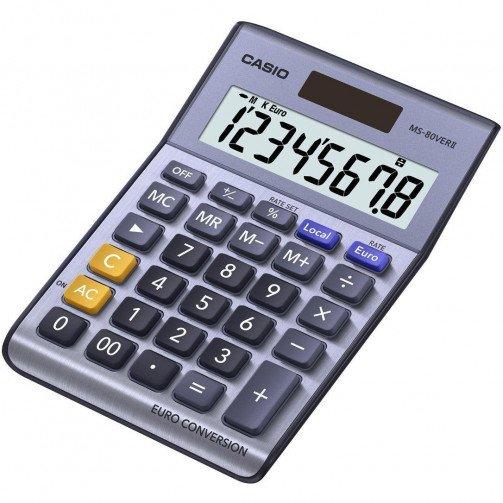 Casio Desk Calculator Euro MS80VER/II