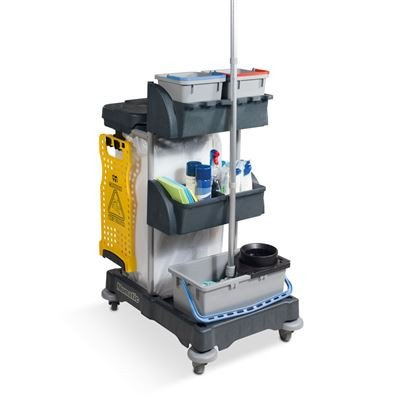 Numatic Xtra Compact Cleaning Trolley Janitorial Direct Ltd
