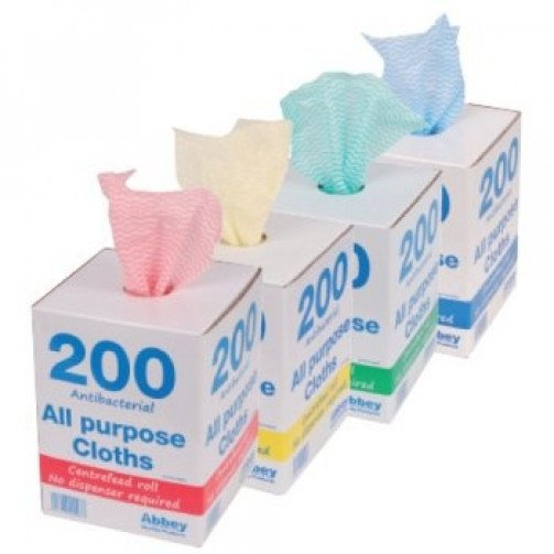 All Purpose Cloths On A Roll x 200
