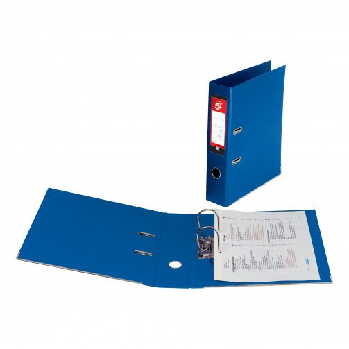 5 Star Office PP L/Arch File A4 R/Blu
