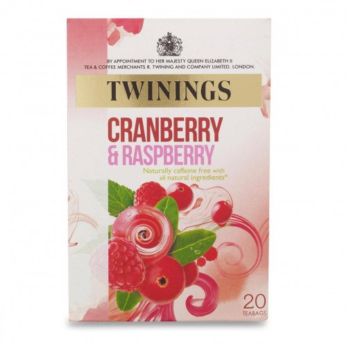 Twinings Crnberry/Rsbry Qty20 Bags