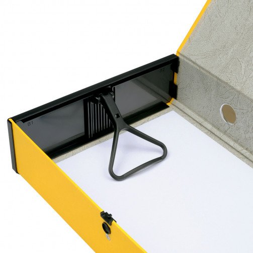 5 Star Office Box File F/Scap Yellow