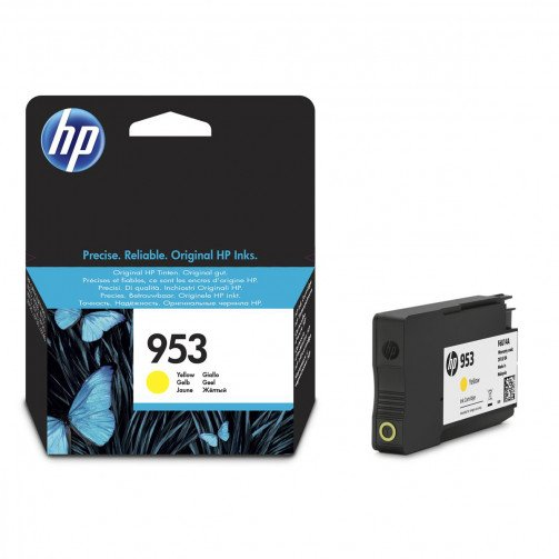 HP 953 Ink Cart Yellow F6U14AE
