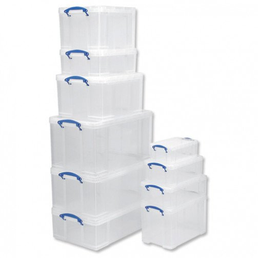 Really Useful Products 12L Box Clear