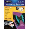 Fellowes Lam Pouches 160MicronA4 Pack100