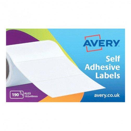 Avery Address TypewrtLbl Roll102x49 AL03