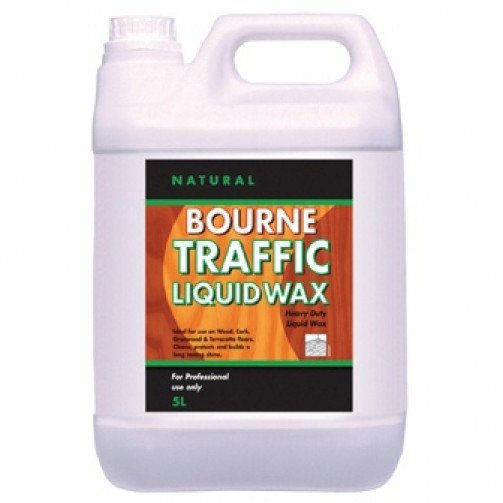 Bourne Traffic Liquid Wax 5ltr