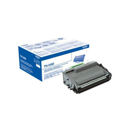Brother TN3480 HY Toner Cart Black