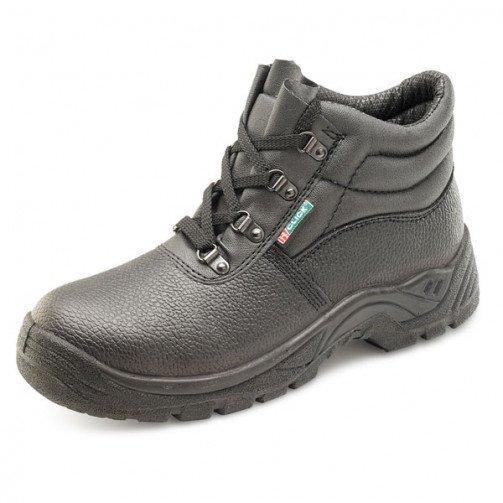 Black 4 D-Ring Chukka Boot