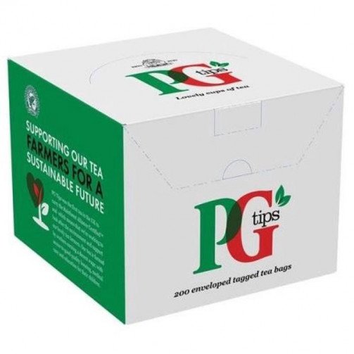 PG tips 200 Enveloped Tea Bags 1845