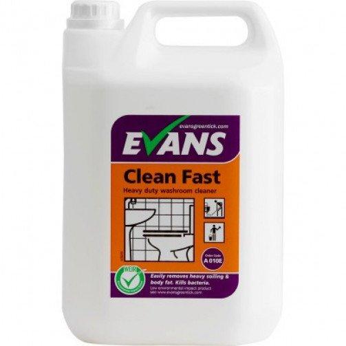 Evans Clean Fast Washroom Cleaner 5 litre