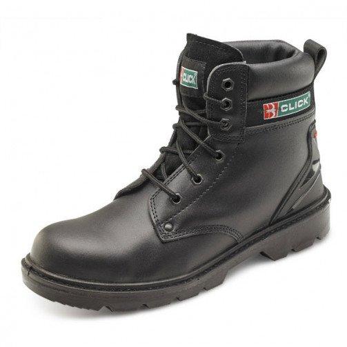 Black 6 Eyelet Safety Boot