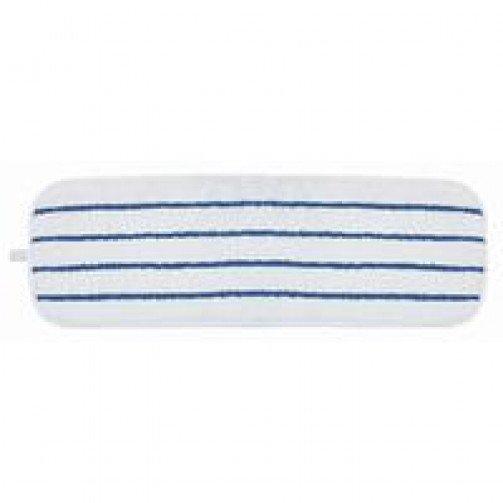 Aggressor Microfibre Scrub Mop Blue/White