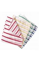 "Striped Dishcloths 14x12""  x 10"