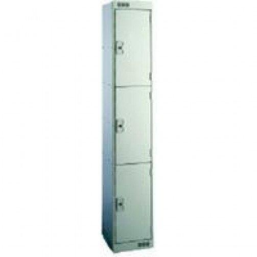 M Series Metric Lockers 3 Door