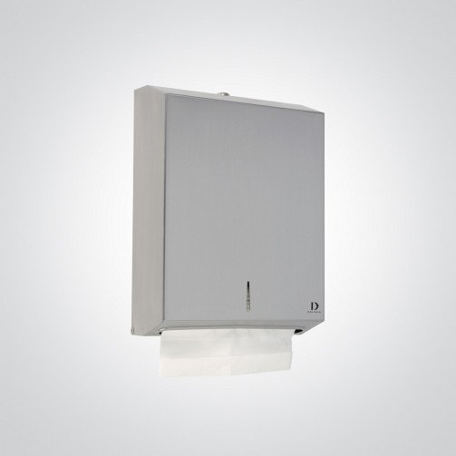 Polished Stainless Steel Hand Towel Dispenser