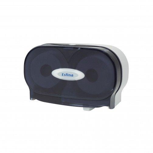 Esfina ESR200 Twin Micro Jumbo Toilet Roll Dispenser