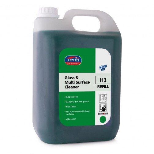 Sanitising Glass & Dishwash Liquid  5 Litre