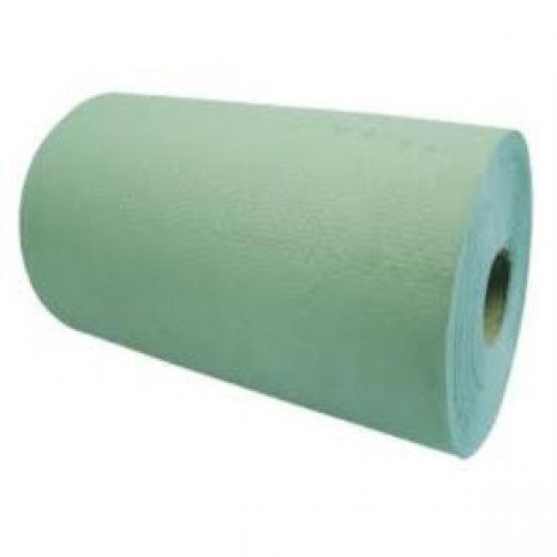 Roll Towels 1ply Green x 6 rolls