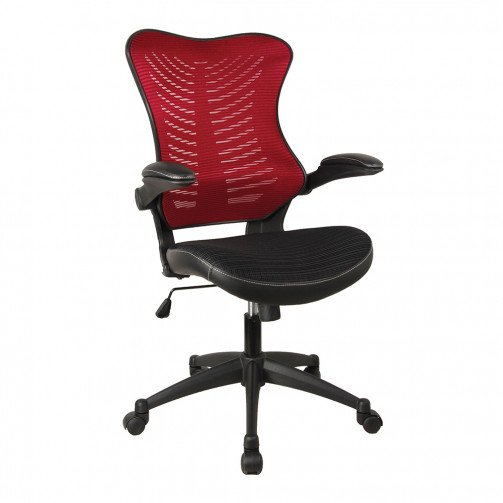 Zambesi 2 Red - Executive Mesh Chair Red