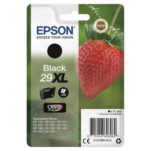 Epson 29XL IJ Cart HY Blk C13T29914012