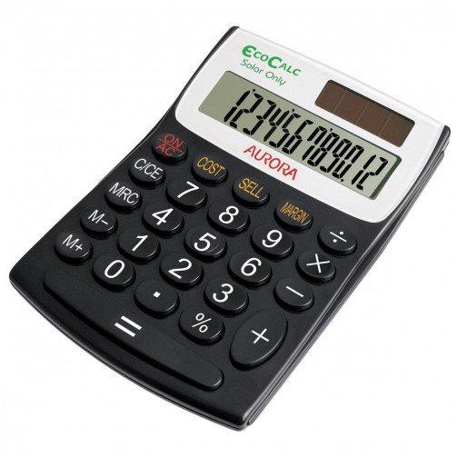 Aurora EcoCalc Semidesk Calculator EC404
