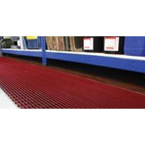 """Interflex PVC Duckboard Mat  47"""" x 33 '"""