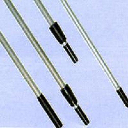 Telescopic poles - Aluminium - 3 section