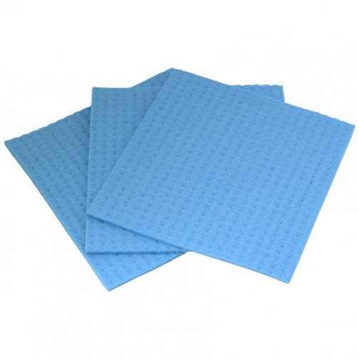 Cloth Sponge Blue x 10