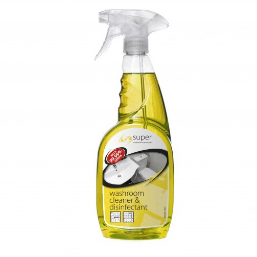 Super Washroom Cleaner and Disinfectant 750ml