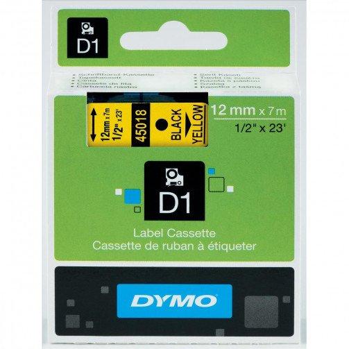 Dymo 4500 Tape Blk/Yell 45018/S0720580