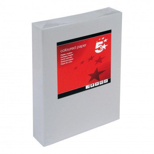 5 Star Tint A4 80gsm Med Grey Pk500
