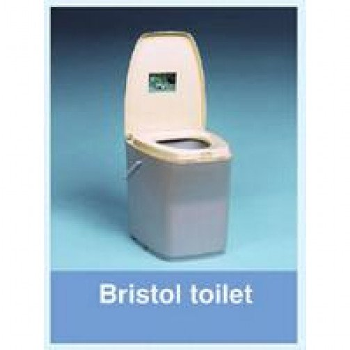 Elsan Bristol Chemical Toilet Grey/Cream
