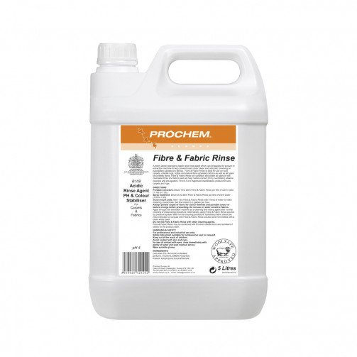 Prochem Fibre and Fabric Rinse 5 Litres B109-05