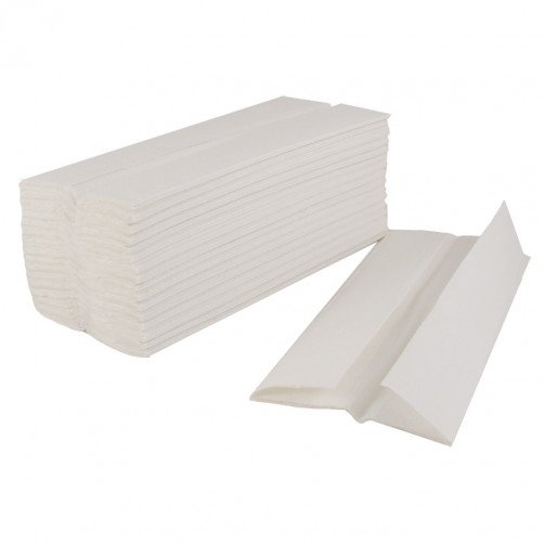 C-Fold Paper Hand Towels 2ply White 2400
