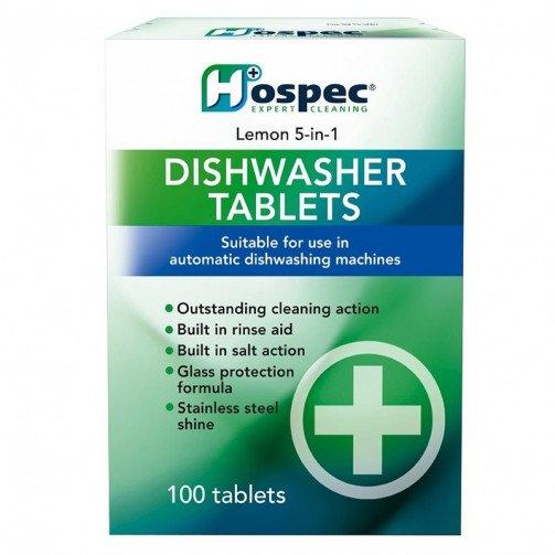 Hospec 5 in 1 Dishwasher Tablets x 100