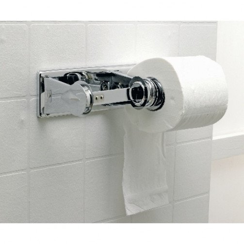 Toilet Roll Holder for std Toilet Rolls x 2 rolls