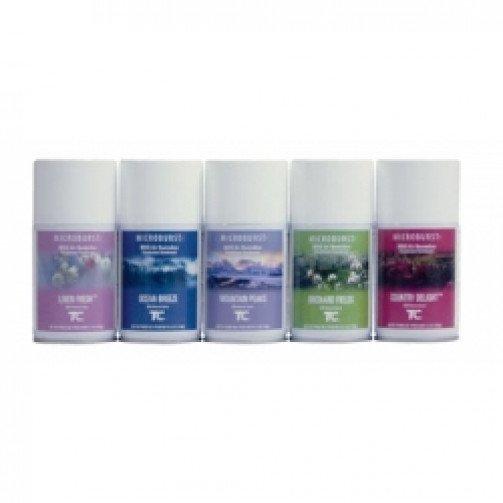 Microburst air freshner refills x 10 mixed 0260100