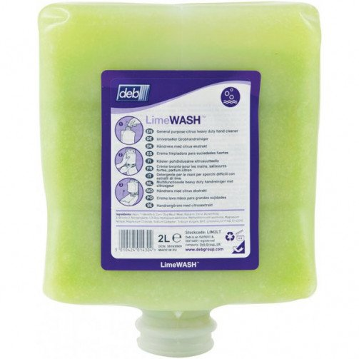 Soap - Deb Lime Hand Wash 4 x 4Ltr