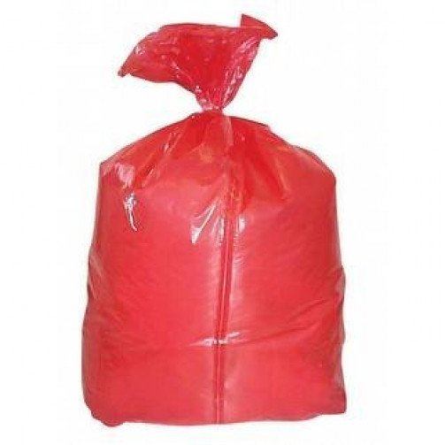 Red Laundry Bags Soluble Strip 18x28x30 x 200