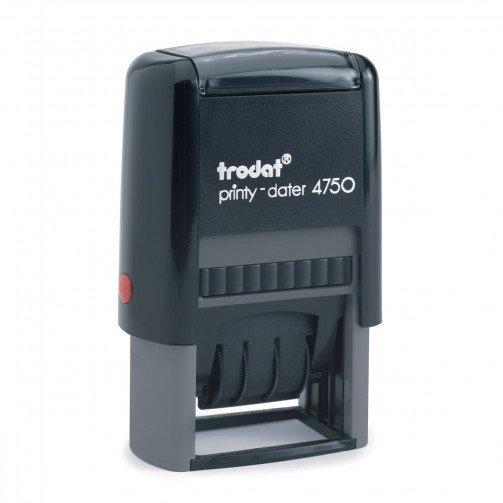 Trodat 4750/L1 Dater Rec Red/Blue 64280