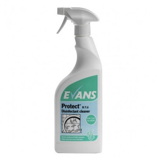 Evans Disinfectant Multi Surface Cleaner Protect 750ml