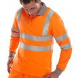Hi-Vis Polo Shirt with Long Sleeves