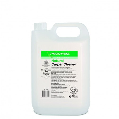 Prochem Natural Carpet Cleaner 5 litres E772-05