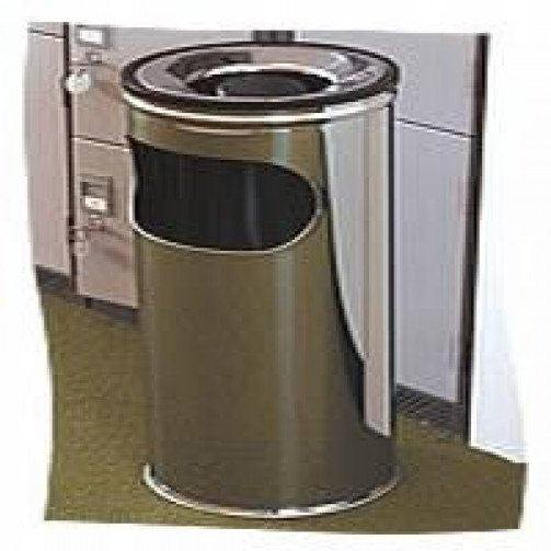 Stainless Steel Litter/ Ash Bins 16 Litre